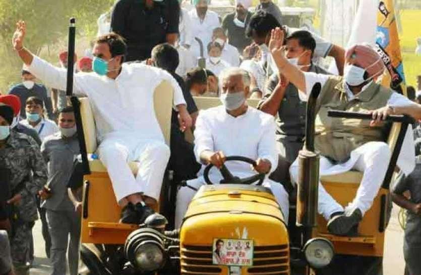 हरियाणा में राहुल गांधी की 'खेती बचाओ यात्रा' छह अक्टूबर से, जानिए पूरा कार्यक्रम