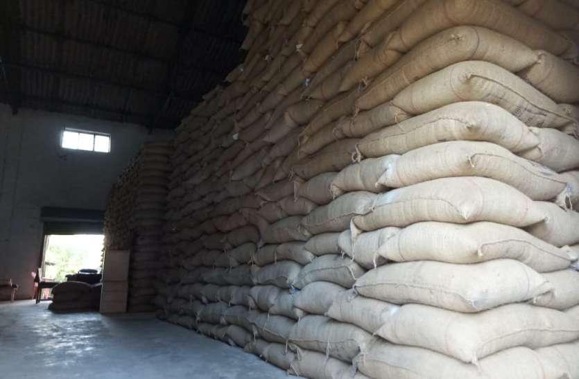 फिर खपाने की तैयारी में अमानक चावल