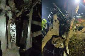 यूपी के देवरिया में बड़ा सड़क हादसा, 3 गाड़ियां आपस में टकरायीं, 5 की मौत एक घायल