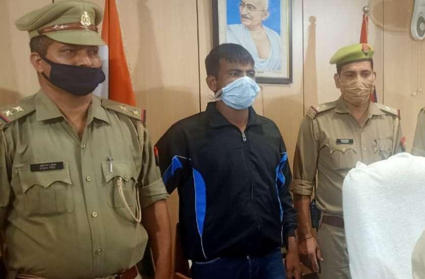 कलेक्शनएजेंट से दो लाख रुपए लूटकरदोस्तों में उड़ा रहा था बदमाश, पुलिस ने दबोचा