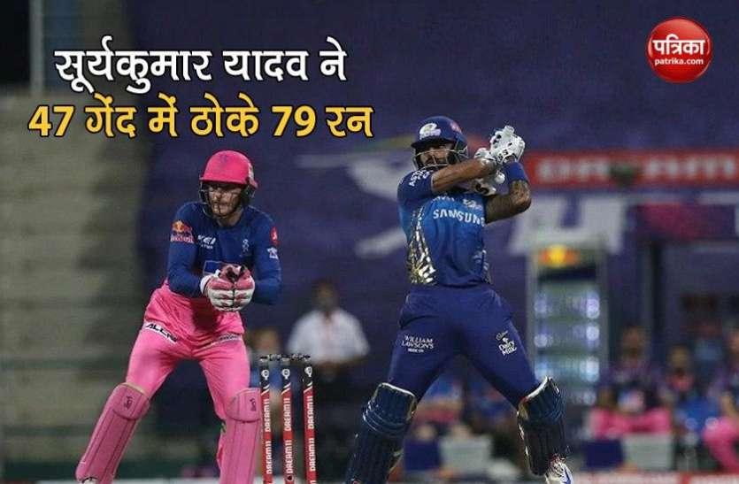सूर्यकुमार यादव का आईपीएल में सर्वश्रेष्ठ प्रदर्शन, बोले-लॉकडाउन ने मेरी मदद की