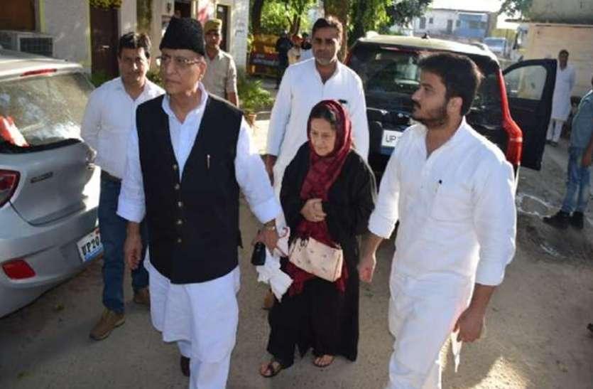 सांसद आजम खान को पत्नी तंजीन और बेटे अब्दुल्लाह संग मिली जमानत