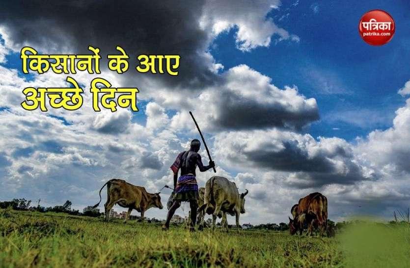 किसानों के अच्छे दिन की हुई शुरुआत, 82 फीसदी बढ़ा कृषि उत्पादों का निर्यात
