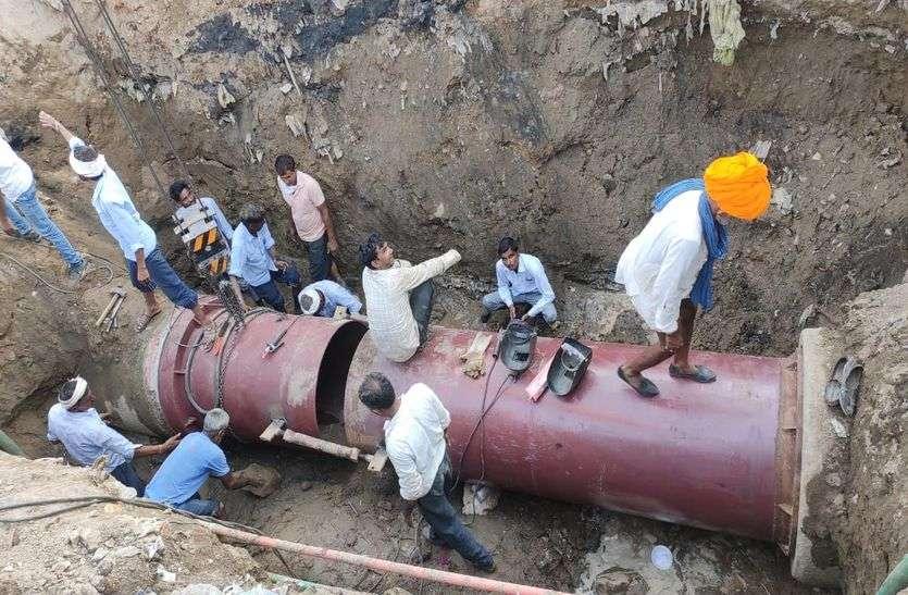 जयपुर में बीसलपुर पेयजल प्रोजेक्ट—खो नागोरियान की 25 हजार की आबादी को कल से बीसलपुर का पानी