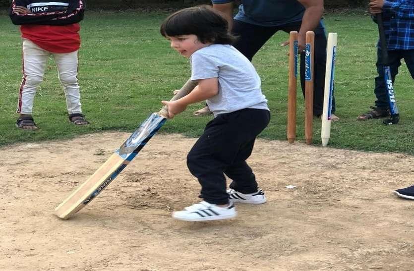 क्रिकेट ग्राउंड पर Taimur Ali Khan ने चलाया बल्ला, करीना कपूर खान ने बेटे के लिए IPL में मांगी जगह