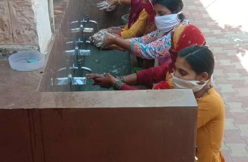 हाथ धुलाई दिवस पर हुई गतिविधियां, किया जागरुक