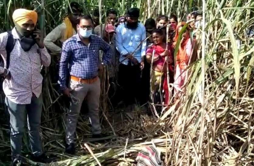 बिजनौर में ईट भट्टे पर काम करने वाले गरीब परिवार की बच्ची को उठा ले गया गुलदार