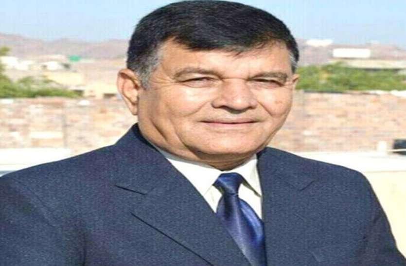 कच्छवाहा राजस्थान पेरामेडिकल कौंसिल के वाइस चेयरमैन