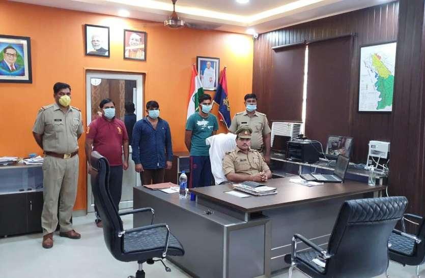 डूब क्षेत्र में अवैध खनन करते 3 गिरफ्तार, खनन माफिया संजय मोमनाथल का छोटा बेटा भी शामिल
