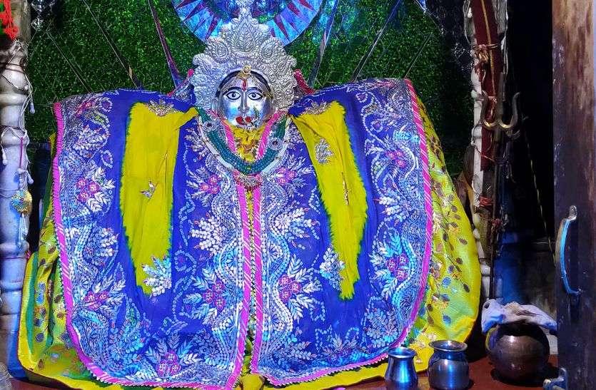 नवरात्र स्पेशल : इंद्र की परियां बनी सामोद महामाया