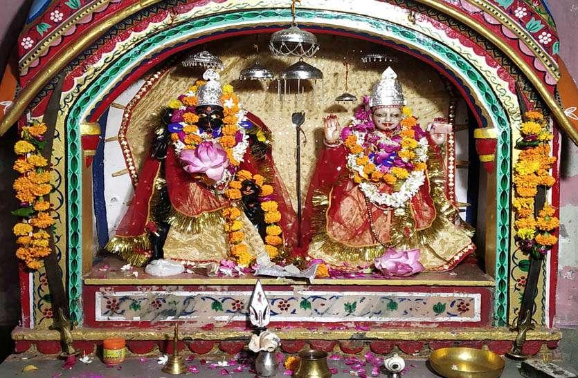 नवरात्र विशेष- रानी के स्वस्थ होने पर माधोसिंह प्रथम ने बनाया कंकाली माता (मठ) व मंदिर