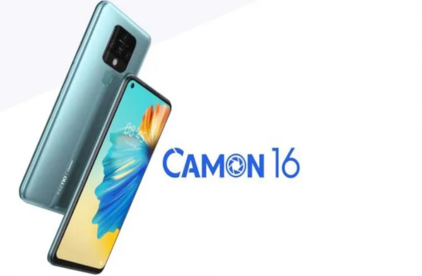 कम कीमत में शानदार फीचर्स वाले Tecno camon 16 की Flipkart पर सेल शुरू