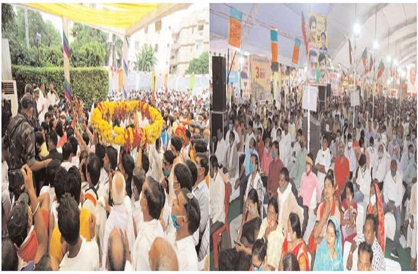 ग्वालियर के 5 थानों में भाजपा-कांग्रेस नेताओं पर कोविड नियम तोडऩे पर एफआइआर