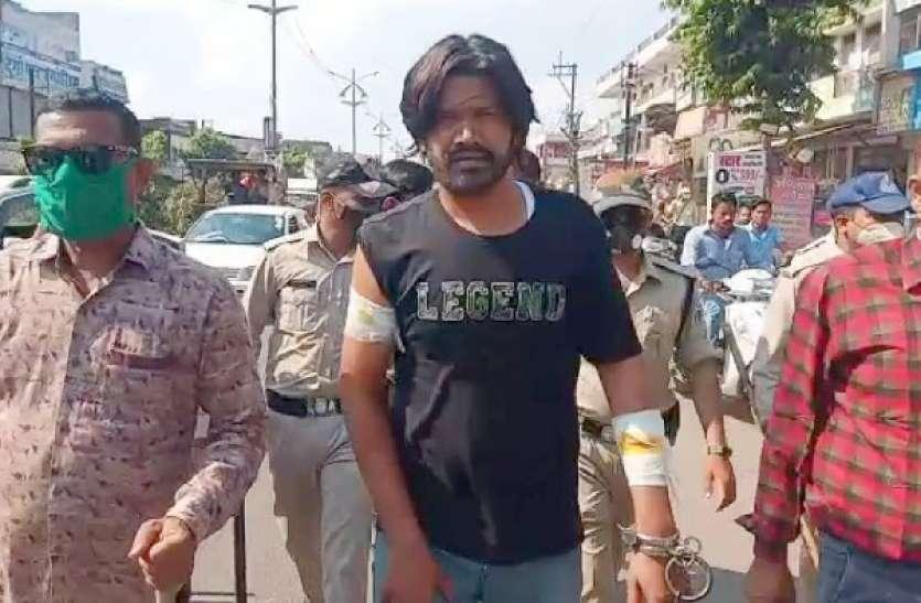 zila ghaziabad में गिरफ्तार हुआ सोशल मीडिया पर वायरल डॉन, लाखों लोगों ने देखा ये दर्दनाक वीडियो