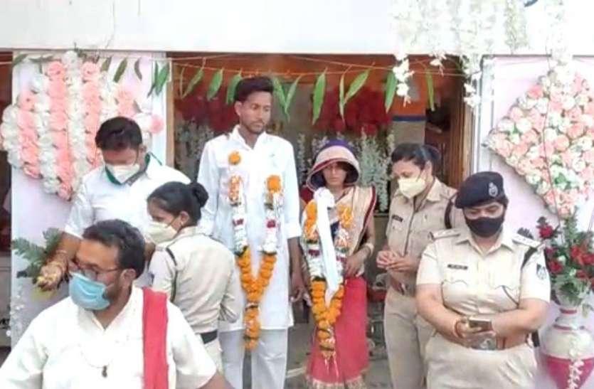 जबलपुर में हुई अनोखी शादी, पुलिस बने घराती
