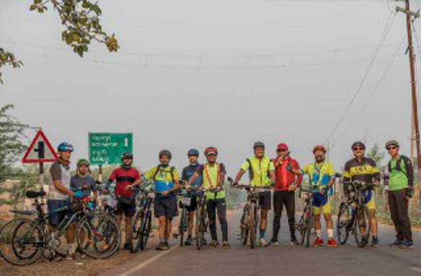 7 माह बाद 100 किमी चलाई साइकिल, अब 200 किमी की बारी