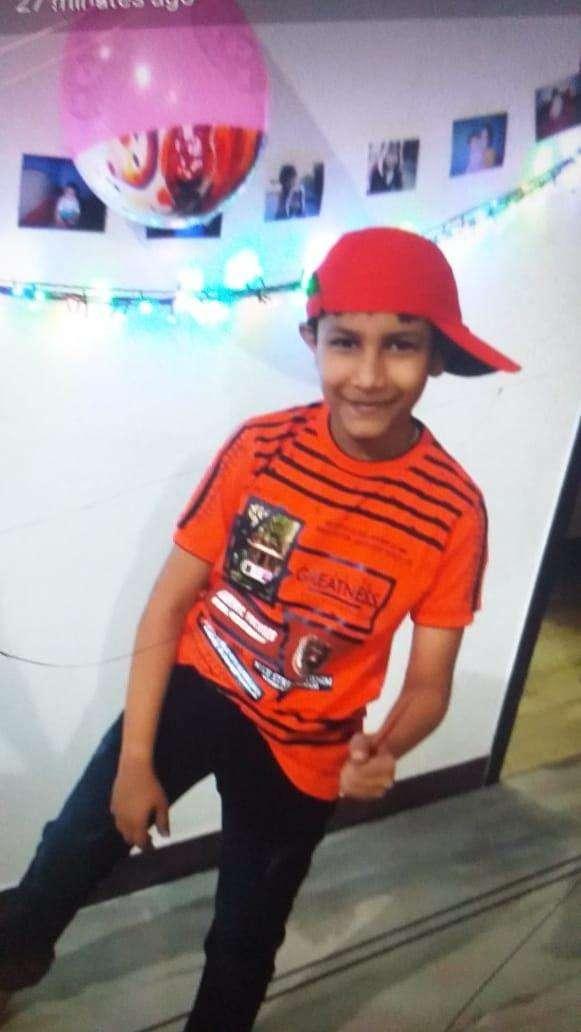 Mukesh Lamba's son Aditya (13)