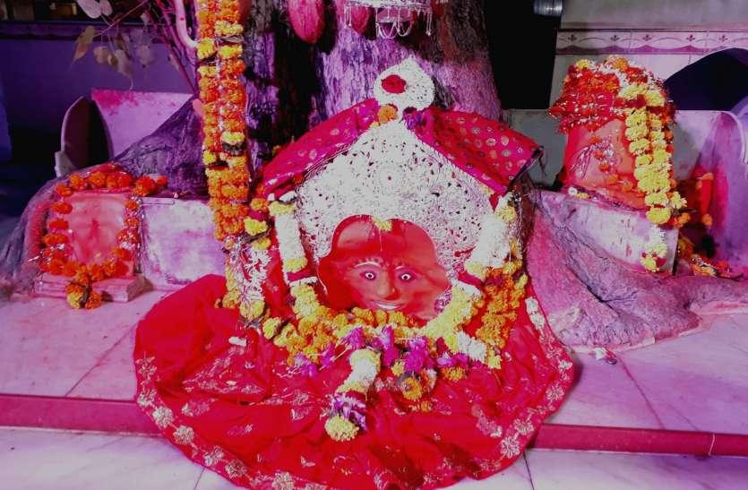 Navratri 2020 - नवरात्रि में मां कालिका माता मंदिर में किया मातारानी का भव्य शृंगार