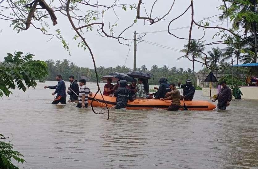 कर्नाटक में कई इलाकों में बाढ़ से हालात गंभीर, सेना भी कर रही मदद