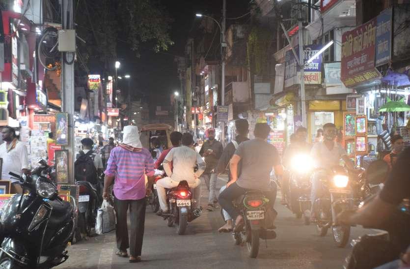 नवरात्र पर दमक उठा यहां का बाजार