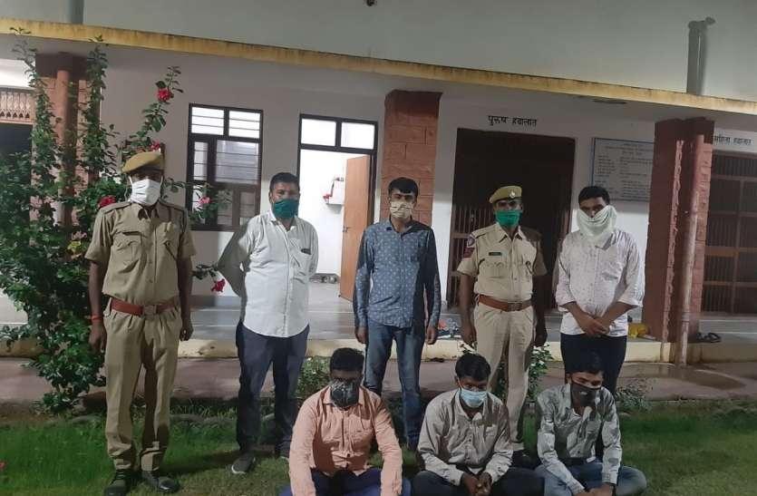 हत्या के तीन और वांछित आरोपी गिरफ्तार, महाराष्ट्र से पकड़े
