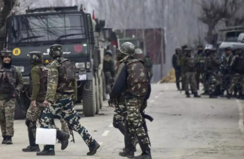 Jammu-Kashmir : पुलवामा में सुरक्षा बलों पर आतांकी हमला, सीआरपीएफ का एक जवान घायल