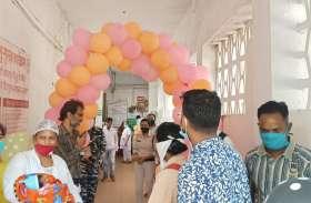 जिला अस्पताल में होगा आर्या का उपचार, नैनपुर से मंडला रेफर