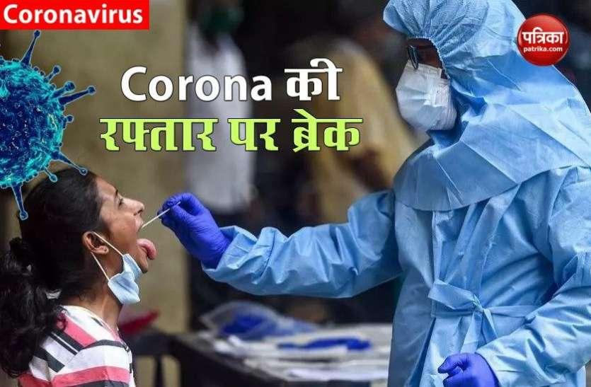 Corona की रफ्तार को लेकर अच्छी खबर : 24 घंटे में सामने आए 46,791 नए केस, 587 मौतें