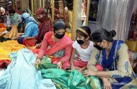 कई दिनों से घरों में कैद लोगों ने बढाई अब बाजार की रौनक...देखिए तस्वीरों में