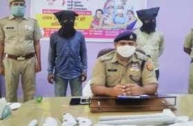 अवैध शस्त्र फैक्ट्री पर पुलिस का छापा, दो गिरफ्तार