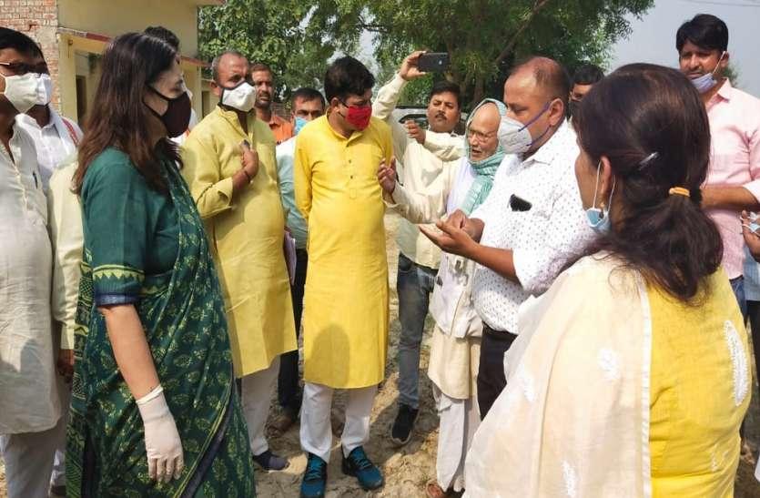 चार दिन में धान क्रय केंद्रों पर सुचारू रूप से खरीद शुरू कराई जाएगी : मेनका गांधी