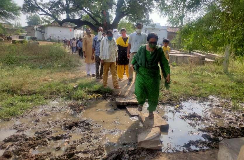 लटेरी का कोटरा लश्करपुर बनेगा प्रधानमंत्री आदर्श ग्राम, प्रमुख सचिव ने लिया जायजा