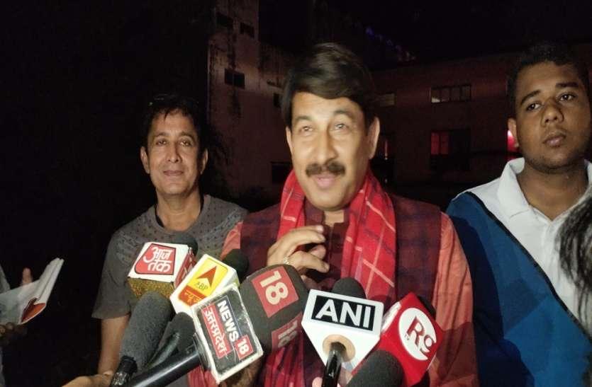 बिहार में बन रही है एनडीए की सरकार : मनोज तिवारी