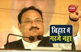 बिहार: JP Nadda  बोले- PM Modi ने भारत की राजनीति की चाल, चरित्र, संस्कृति बदली
