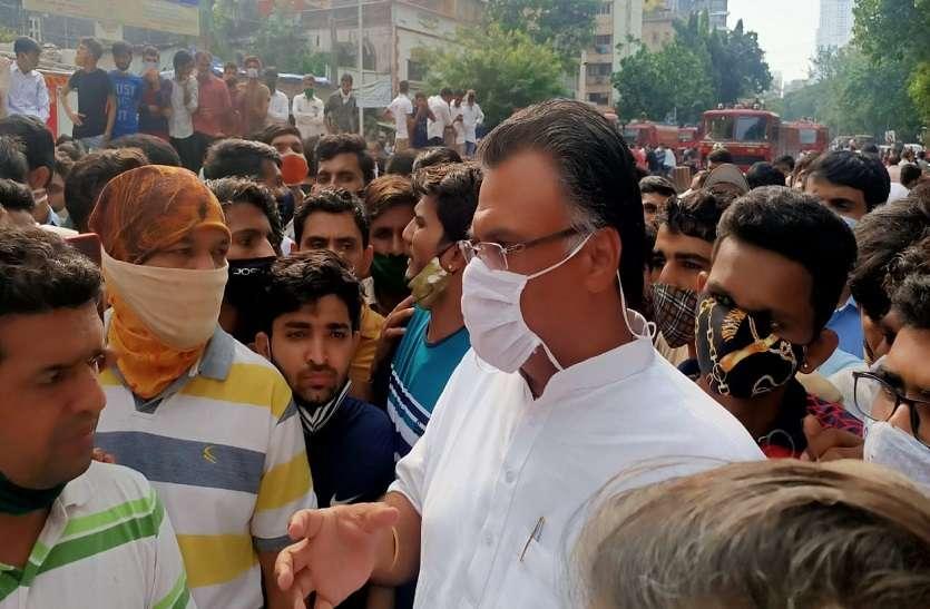 प्रवासी कारोबारियों का दर्द साझा करने मुंबई पहुंच गए राजस्थान सांसद, उद्धव सरकार से कर डाली ये मांग