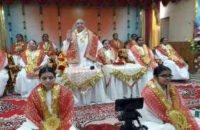 21 तपस्वी राजयोगिनी देवियों का श्रद्धा भाव से किया शृंगार