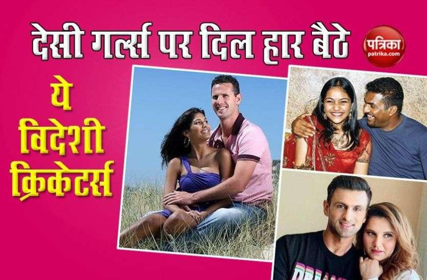 भारतीय सुंदरियों के प्यार में क्लीन बोल्ड हुए ये विदेशी क्रिकेटर्स, नाम जानकर होगी हैरानी