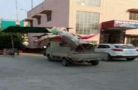 जयपुर में रावण को जलने से पुलिस ने बचाया! मालखाना में जब्त किया