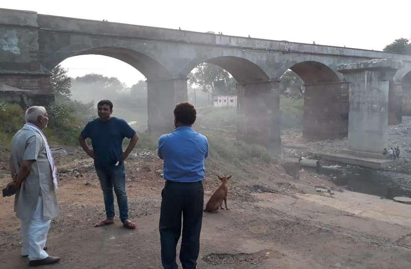 12 साल में नहीं बना पुल अब फिर निर्माण की तैयारी