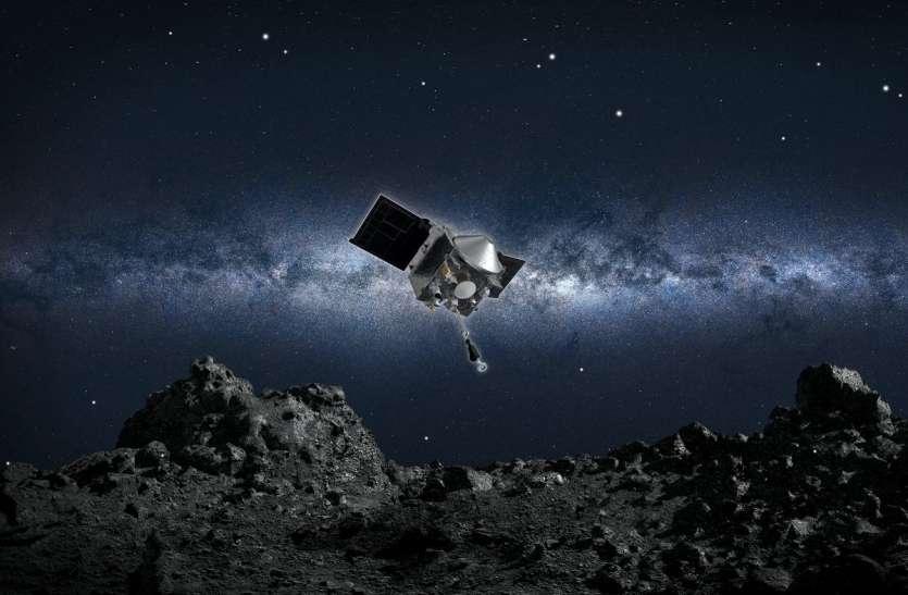 नासा के ऑसिरिस एक्सप्लोरर से क्षुद्रग्रह का सैंपल हो रहा लीक, वैज्ञानिकों की चिंता बढ़ी