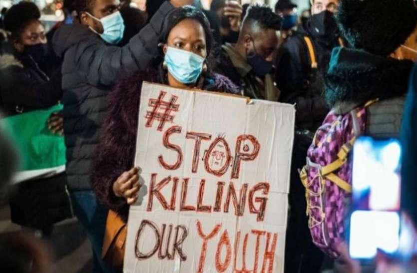 नाइजीरिया: पुलिस प्रमुख का बड़ा फैसला, प्रदर्शनकारियों से सख्ती के साथ निपटने के दिए निर्देश
