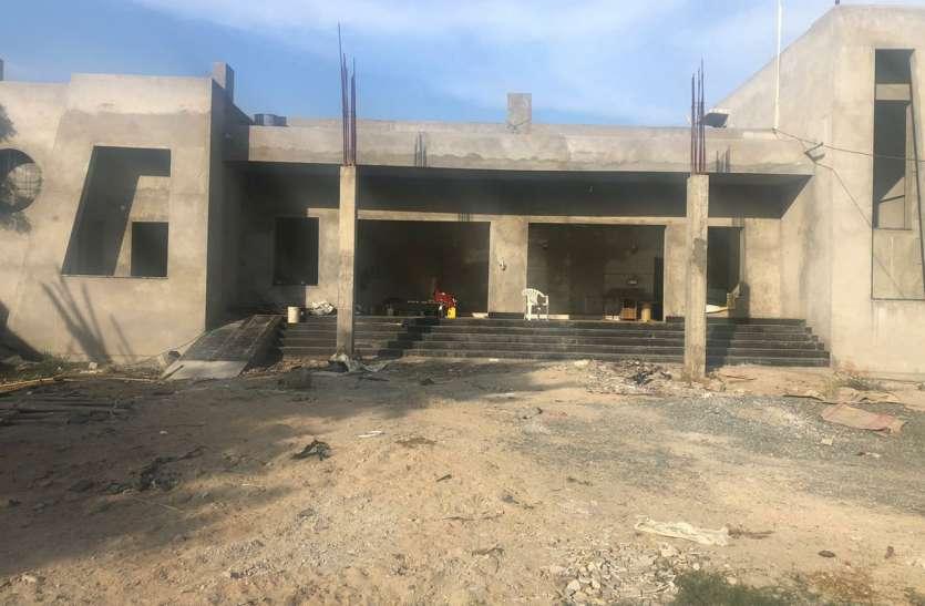 शूटिंग रेंज का ढाई करोड़ का बजट भवन निर्माण में उड़ गया