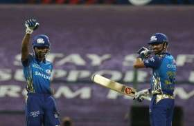 IPL 2020: हार्दिक की तूफानी पारी के दम पर MI ने RR को दिया 196 रनों का लक्ष्य