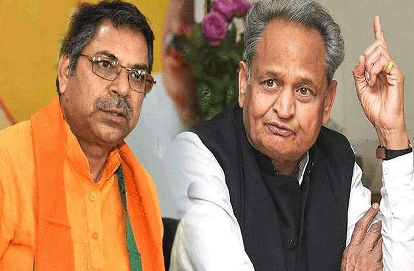 राजस्थान में सोमालिया जैसे हालात, क्या गृह मंत्री को पद पर रहने का हक़ है?: डॉ सतीश पूनिया