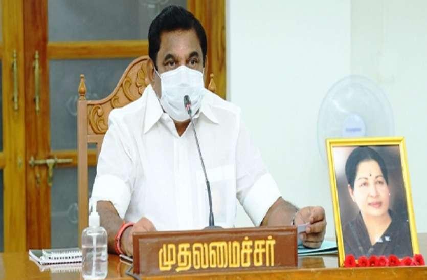 मुख्यमंत्री पलनीस्वामी बोले: तमिलनाडु भारत की स्वास्थ्य राजधानी