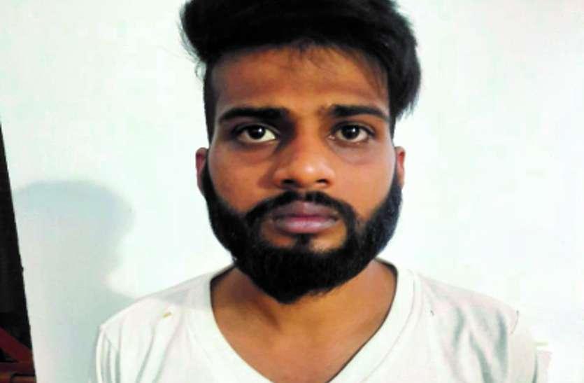 1 लाख 80 हजार रुपए की ब्राउन शुगर के साथ युवक गिरफ्तार, ग्राहक की कर रहा था तलाश