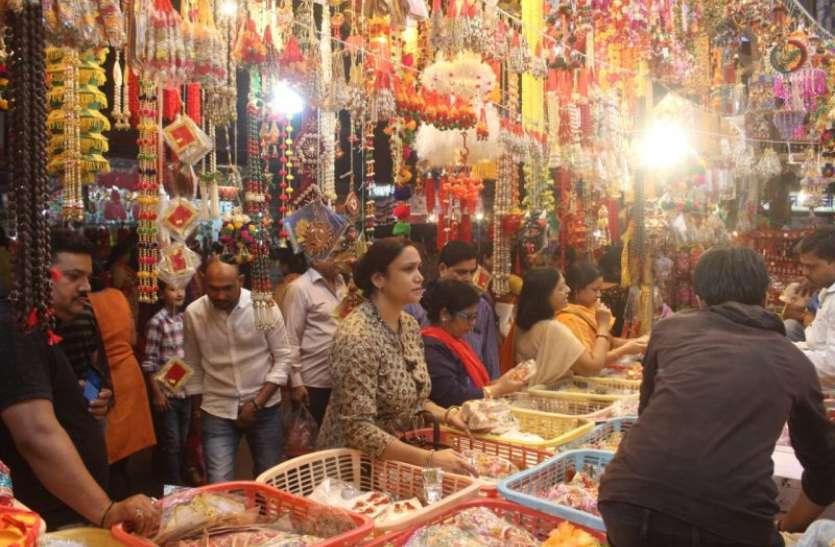 4-5 पहले नहीं बल्कि भीड़ से बचने दिवाली की खरीदारी नवरात्री के बाद से शुरू