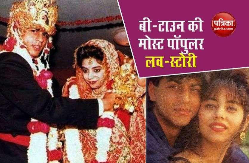 मुस्लिम और हिंदू रीति-रिवाज़ो के साथ शादी करने के बाद भी Shahrukh ने तीसरी बार Gauri संग की थी शादी