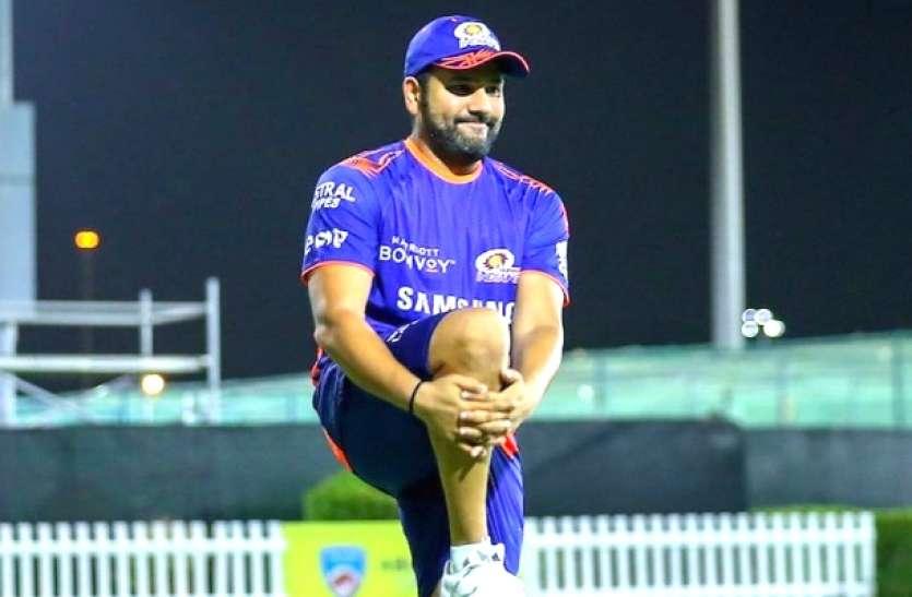 IPL 2020: मुंबई इंडियंस को झटका! रोहित शर्मा के बाकी बचे मैच खेलने पर संशय
