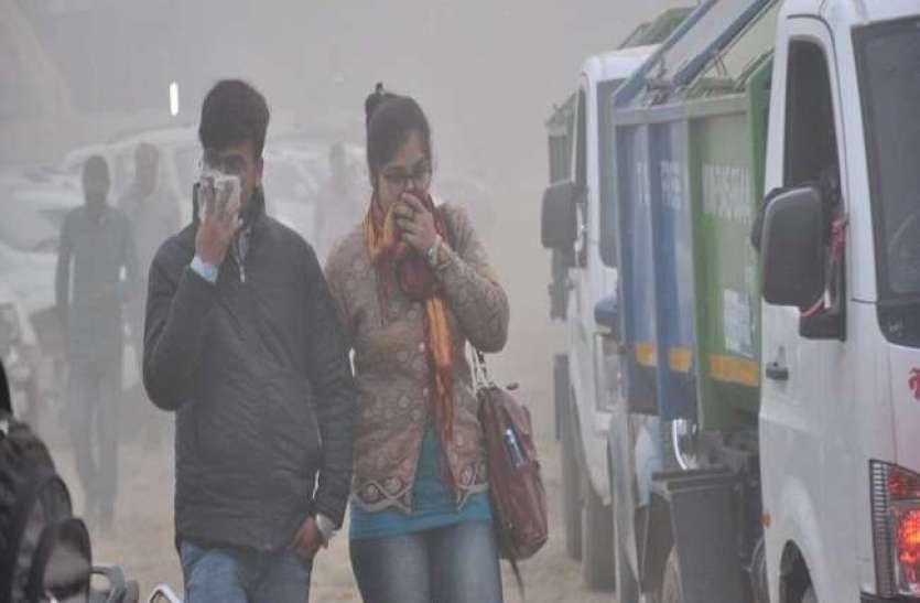 Air Pollution: दिल्ली में लगातार बिगड़ रही आबो हवा, कई इलाकों में 300 के पार पहुंचा AQI